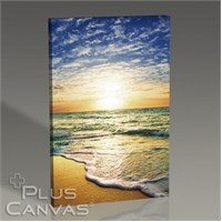Pluscanvas - Sunset Coast Tablo