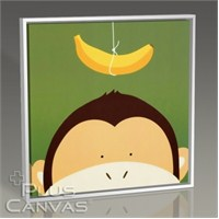 Pluscanvas - Monkey And The Banana Tablo