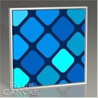 Pluscanvas - Diamante Azul Tablo