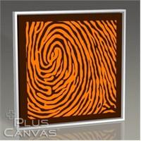 Pluscanvas - Fingerprint Iı Tablo