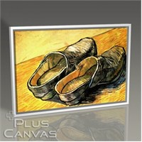 Pluscanvas - Vincent Van Gogh - A Pair Of Leather Clogs Tablo