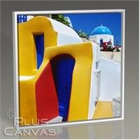 Pluscanvas - Santorini - Yunanistan Renkleri I Tablo