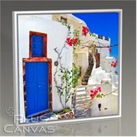 Pluscanvas - Santorini - Yunanistan Renkleri Iv Tablo
