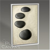 Pluscanvas - Sand And Pebbles Tablo