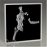 Pluscanvas - Beauty In Black Tablo