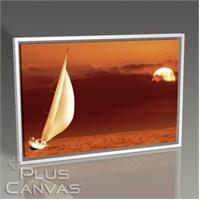 Pluscanvas - Yatching At Sunset Tablo
