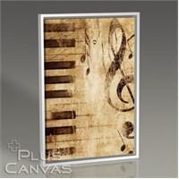 Pluscanvas - Piano Notes Tablo