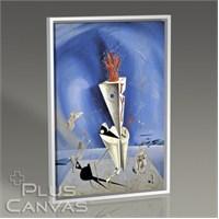 Pluscanvas - Salvador Dali - Apparatus And Hand 1927 Tablo