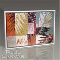 Pluscanvas - Floral Pattern I Tablo