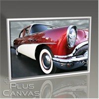 Pluscanvas - Classical Red Car Tablo