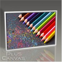 Pluscanvas - Coloured Pencils I Tablo