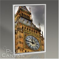 Pluscanvas - London - Big Ben Close-Up Tablo