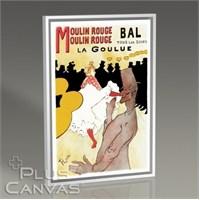 Pluscanvas - Toulouse Lautrec - Moulin Rouge Tablo