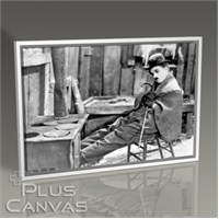 Pluscanvas - Charlie Chaplin Tablo