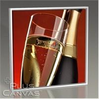 Pluscanvas - Champagne Tablo
