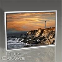 Pluscanvas - Lighthouse Over Hills Tablo