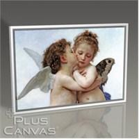 Pluscanvas - William Bouguereau - The First Kiss Tablo