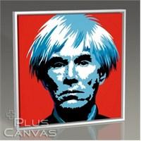 Pluscanvas - Andy Warhol - Self Portait Tablo