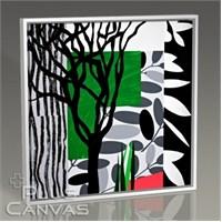 Pluscanvas - Black Mimosa Tablo