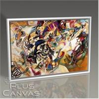 Pluscanvas - Wassily Kandinsky - Composition 7 Tablo