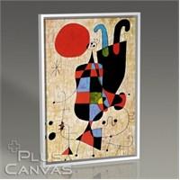 Pluscanvas - Joan Miro - Upside-Down Figures Tablo