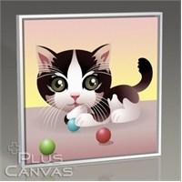 Pluscanvas - Pussy Cat Tablo