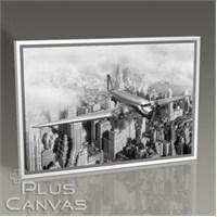Pluscanvas - New York - Vintage View Tablo