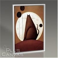 Pluscanvas - Black Cat Tablo