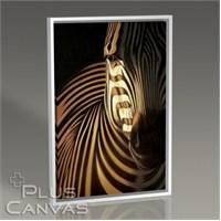 Pluscanvas - Zebra Closeup Tablo