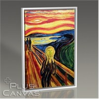 Pluscanvas - Edvard Munch - The Scream Tablo