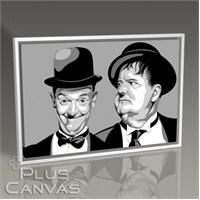 Pluscanvas - Laurel And Hardy Tablo