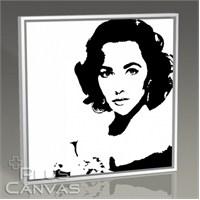 Pluscanvas - Elizabeth Taylor - Pop Art Tablo