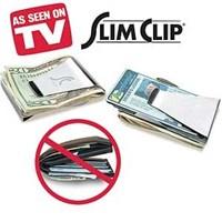 Pratika Paslanmaz Çelik Cüzdan Slim Clip
