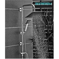 Diamond Brandium Kare Şemsiye Sistem Duş Seti