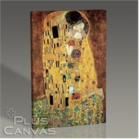 Pluscanvas - Gustav Klimt - The Kiss Tablo