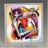 Pluscanvas - Alfred Gockel - Stroking The Keys Tablo