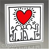 Pluscanvas - Keith Haring - Love Tablo