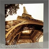 Pluscanvas - Paris - Eiffel Tower Perspective Tablo