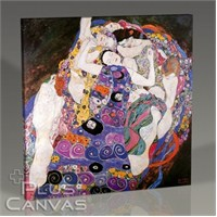 Pluscanvas - Gustav Klimt - The Virgin Tablo