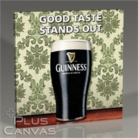 Pluscanvas - Guinness - Good Taste Stands Out Tablo