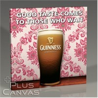 Pluscanvas - Guinness - Good Taste Comes To Those Who Wait Tablo