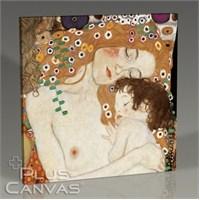 Pluscanvas - Gustav Klimt - Mother And Child Tablo