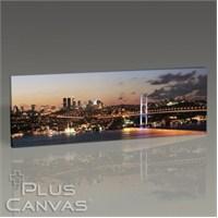 Pluscanvas - İstanbul - Boğaz Köprüsü Ve Boğaz Tablo
