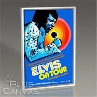 Pluscanvas - Elvis - On Tour Tablo