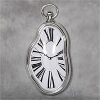 Evmanya Haus Eriyen Duvar Saati - Melting Wall Clock