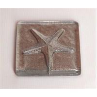 Deniz Yıldızı Gümüş Mutfak - Banyo Gider Süsü