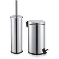 Klozet Fırçası - Çöp Kovası İkili Set