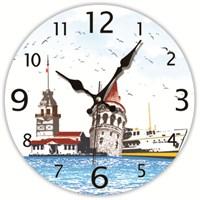 İstanbul Mdf Duvar Saati