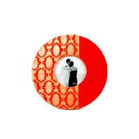 Kırmızı Oval Zincir Model Fotoğraf Çerçevesi