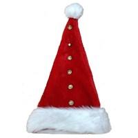 Düğmeli Yeni Yıl Bayan Şapkası